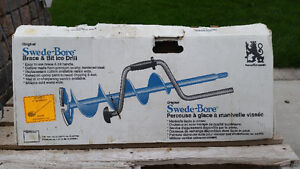 """8"""" manual ice auger"""