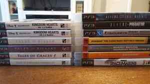 Selling PS3 Games! RPG's and Action games!