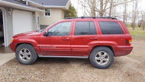 2003 jeep grand cherokee (overland edition)