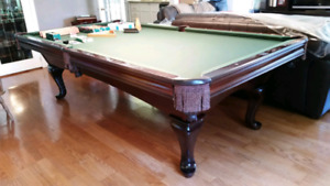 Brunswick pool table (9ft)