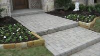Looking for someone to build paver walkway.