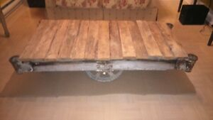 TABLE CHARIOT INDUSTRIEL (item#26)