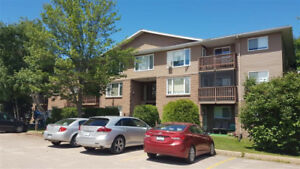 Two bedroom seniors unit in a building with elevator service