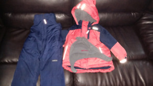 18 months old oshkosh snow suit with hat