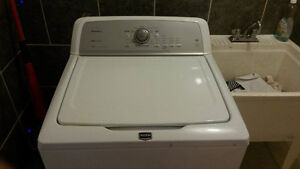 Lightly used Maytag Bravos X top load washer for sale