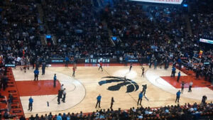 Raptor Tickets All Games *Row 3 + Center Crt + Great Aisle Seats