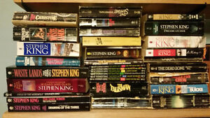 Stephen King soft cover book collection