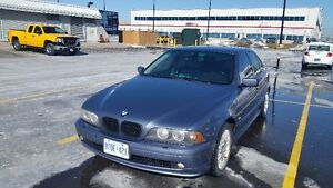 2002 BMW E39 5-Series 540i Sedan, maual swapped