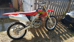 2002 crf 450 trade for old car