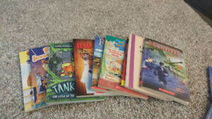 9 chapter books lot