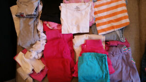 Lot of girl's clothing: size 3-4