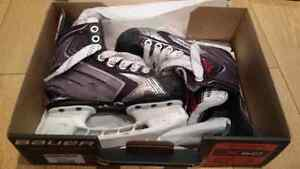 Patins Bauer Vapor X60 JR Grandeur 12.5 - Youth Hockey Skates