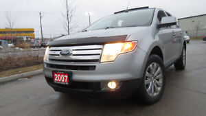 2007 Ford Edge SEL, AWD,Leather, Glass roof, 3/Ywarranty availab