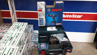 """Perceuse Bosch Drill Kit 3/8"""" Lithium 18V DDB180-02 Case Charger"""