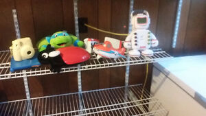 Barely used toys