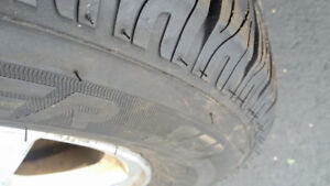 """1000km  New Tires on """"Mag"""" Rims"""