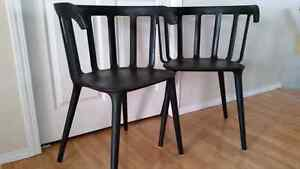 Ikea dining room chairs - set of 2