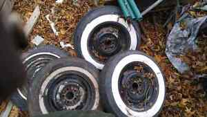 1952 ford steel rims 4 + spare West Island Greater Montréal image 3
