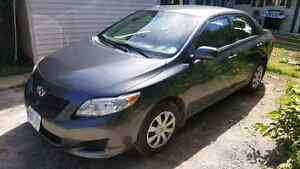 2010 Toyota Carolla CE 89000 kms excell. cond. Possible Trade