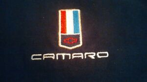 Camaro logo black golf shirt, NEW, size Medium to Large, $12 Kitchener / Waterloo Kitchener Area image 1