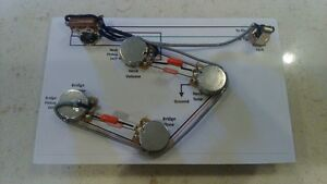 Prewired ES-335 style wiring harnesses