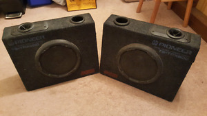 Pair of Pioneer TS-TRX800 200 watt truck riders speakers