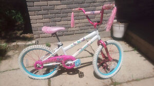 "20"" Huffy Girls Bike with Butterfly Motif"