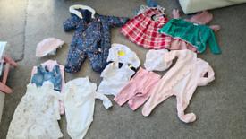 Girls clothes 3-6 months