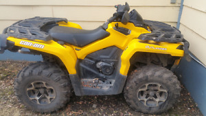 PEACE RIVER - 2014 CAN-AM 1000 OUTLANDER
