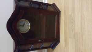 Clock display unit antique