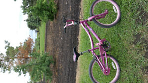 """Girl's Supercycle bmx style bike 20"""" tires"""