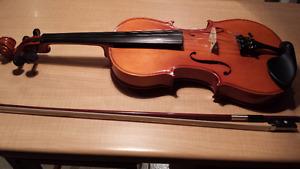 Violon Copie de Stradivarius 4/4 avec boîtier et archet