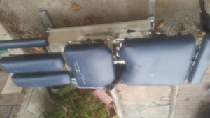 Two Used Chiropractic Electric Tables