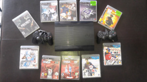 PSP 3 with games