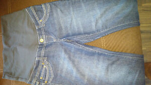 TWO (2) THYME MATERNITY JEANS Cambridge Kitchener Area image 3