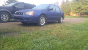 Subaru impreza 2.5ts hatchback part out