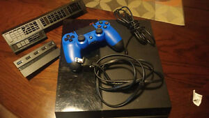 Ps4 with controller and accessories