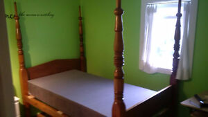 4 Post Antique Canopy Bed ( Double )