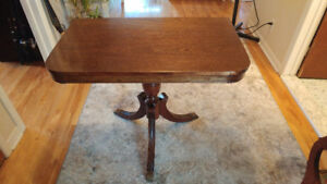 Side tables - 2 solid wood side tables 300.00 ea.