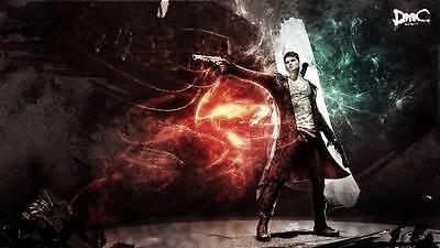 Poster Devil May Cry 2 3 4 5 Dante DMC PS3 Xbox 360 Vergil DANTE'S Awakening #2 online kaufen