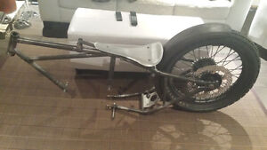 Indian scout motorcycle race frame project vintage