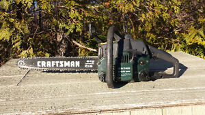 Scie a chaine Craftsman Special Edition