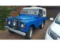 1962 Land Rover 88 4 CYL CNTY SW Petrol Manual