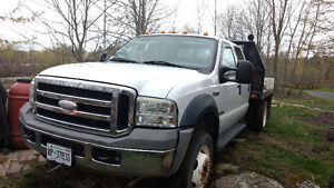 2006 Ford F-550 Crewcab Flatbed