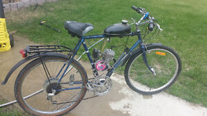 Motorized bike kijiji free classifieds in alberta find for Motorized bicycle california law