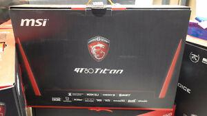 """MSI GT80 TITAN SLI 18.4"""" Gamer Notebook (Intel Core i7-6820HK,12"""