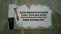 AZA RENOVATIONS