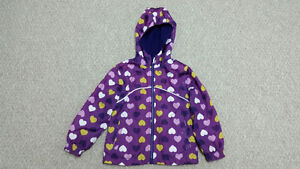 Girls Spring/Fall Jacket-Reversible-Size 5