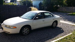 2001 Oldsmobile Intrigue White Sedan runs great