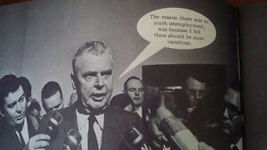 Satire of Lester Pearson, John Diefenbaker, 1967 Kitchener / Waterloo Kitchener Area image 2